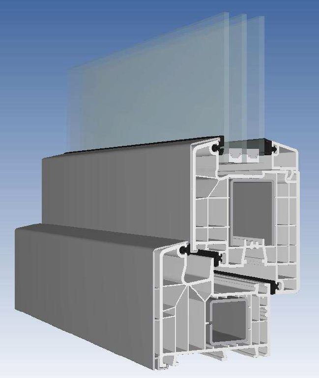 wa 85 md classic line alu deckschale wassong fenster und t ren. Black Bedroom Furniture Sets. Home Design Ideas